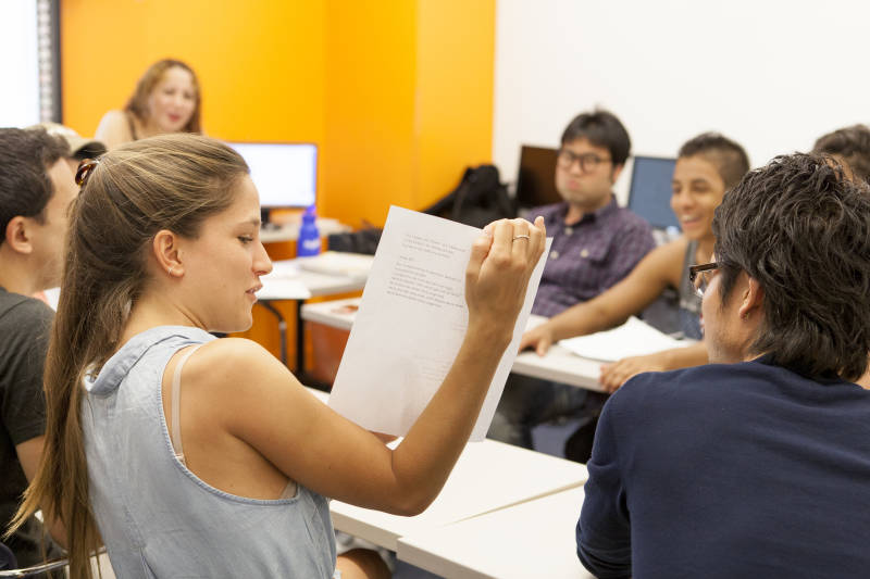 . Deutschkurse der Bermuda language school in Bochum